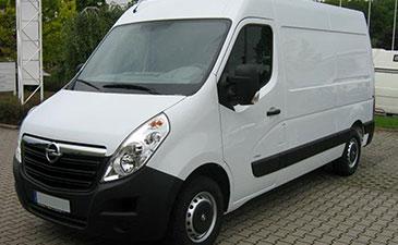 Fourgon surabaisse Opel Movano