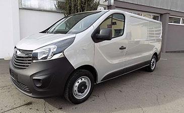 Utilitaire surabaissé Opel Vivaro