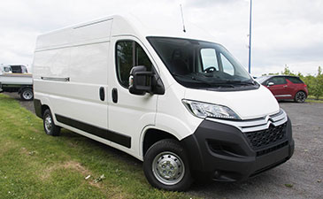 Renault Trafic a chassis surabaisse
