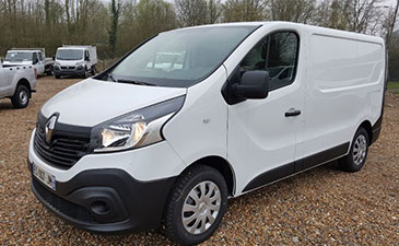 Véhicule a chassis surabaisse Renault Trafic